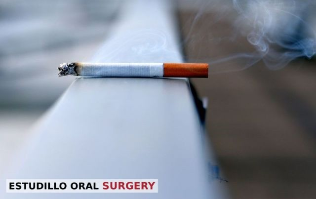 A cancer-causing cigarette lying on a ledge - San Leandro, CA